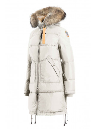 Пуховик Parajumpers Long Bear бежевый