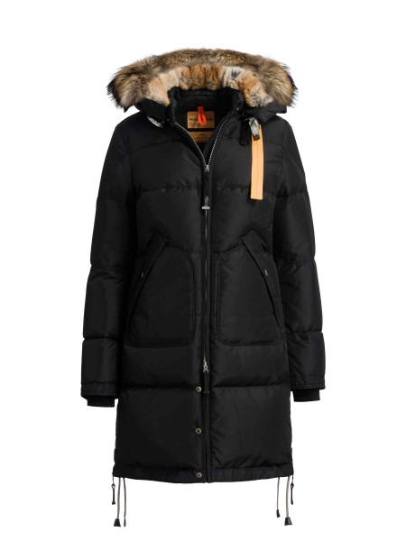 Пуховик Parajumpers Long Bear черный