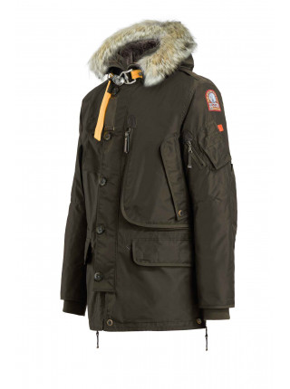 Пуховик Parajumpers Kodiak зеленый