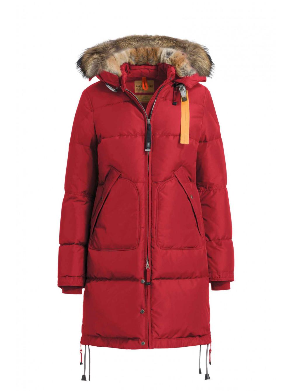 45cd174aa9b Купить Пуховик Parajumpers Long Bear красный оригинал