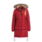 Пуховик Parajumpers Long Bear красный