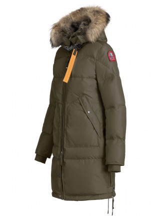 Пуховик Parajumpers Long Bear оливковый