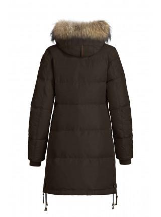Пуховик Parajumpers Long Bear темно-коричневый