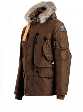 Пуховик Parajumpers Right Hand коричневый